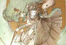 Yoshitaka Amano-Ilustrações