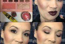 Makeup avec la palette Elsa Makeup / Coucou les Beautés MU aujourd'hui avec la palette @elsamakeup RAL @houseofbeauty Passion et Blush @makeupgeek Love Affair. Belle journée