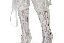 Boho Bridal Footwear / Footwear for brides and weddings