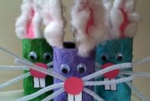 Toddler crafts / by Charri Barker