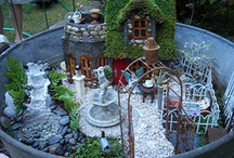 A Fairyland of Homes & Gardens / I love fairy gardens! These are some beautiful ones & I have included pics of some of mine here, too! / by Nina Eary
