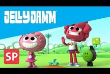 Videos Jelly Jamm / Episodes of Jelly Jamm. First season. Vodka's animation for kids. Jelly Jamm's show.