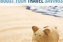 Budget Travel / Money saving tips before and during your vacation. Budget activities and how to make the most of your trip without breaking the bank!