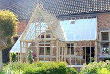 Oranjerie & (Zon)lichtinval / Gebouwen met zon-oriëntatie, bijvoorbeeld als wintertuin.