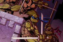 Teenage mutant ninja turtles / Ninja action Yo! Booya! / by David Lawrence