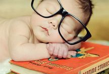 Kids and books photos