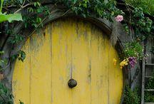 hobbit hus till trädgården