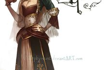 Gaming Character Inspiration / Photos and drawings of character inspiration for gaming: PCs, NPCs, etc.