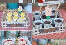 Barn theme birthday party / by Cynthia Baez