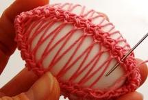 Crocheting Easter