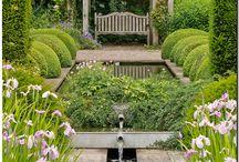 Garden design / Sebuah desain kebun yang bagus untuk menumbuhkan inspirasi dan ide kreatif