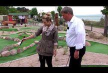 AbenteuerGolf im TV / Die Abenteuer-Golf-Anlage in Göhren auf Rügen ist schon eine kleine Berühmtheit geworden - Hier findet Ihr die TV-Beiträge.