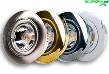 """Einbaustrahler """"Eloy"""" / Attraktiver Decken-Einbauring aus massivem Aluminium-Druckguss (Rostfrei). Schwere, solide Ausführung! Die Einbaustrahler bestechen durch ihre schöne Oberfläche und dem leichten Wechsel der Leuchtmittel per Bajonettverschluss -ein Sprengring ist nicht nötig. Wahlweise mit Halogen- oder LED-Leuchtmitteln erhältlich."""