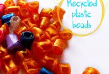 beads diy / new creations recycling materials