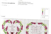Lavander cross stitch