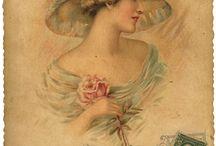 Victorian, Retro, Romantically & Vintage