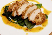 Honey Mustard Pecan Chicken Recipe