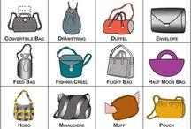 Típuselnevezések/ táska