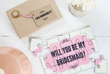 Will You Be My Bridesmaid? / Cute ways to ask your best girls - Will you be my bridesmaid?