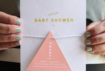 Geometric Baby Shower Yes Please!