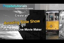 Windows Live Movie Maker Tutorials / A series of video, where I explain in detail how to use Windows Live Movie Maker.