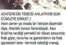 Atatürk'üm...