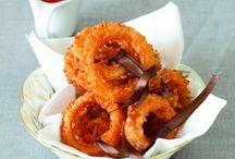 Mmm snack foods, finger foods, dips