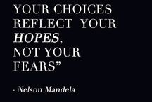 your choice reflect hopes not fears