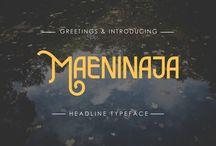 Fonts on Creative Store / Fonts on Creative Store