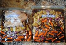 Frozen crockpot meals