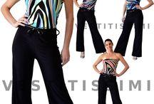Tuta intera overall tutina abito pantaloni donna bustino jumpsuit miniabito Vs22
