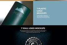 Logo Design Templates & Logo Creators / Handpicked and frequently updated collection of logo templates and logo bundles for your brand or client project.
