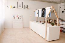 studio / #concept#wood#design#white#simple#