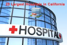 25 Largest Hospitals list in California