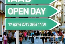 IAAD Open Day | 19.04.13 / by IAAD - Istituto d'Arte Applicata e Design