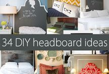 DIY Headboard Ideas / by Diane Stone