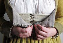 medeltida kläder