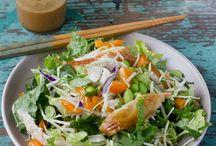 Salad recipes / Diversify boring salads