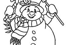 snowmen / by Carol Gibson