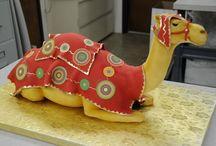 Wedding Cake in Rajasthani Theme