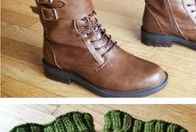 div mønstre strikk