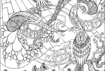 Coloring Pages / by Rhoda Cook