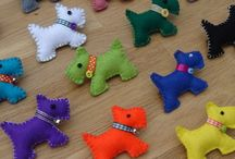 Scottie dog crafts