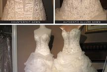 Shoppers Beware / Shopping for Wedding Dresses and Formal Dresses, some information about avoiding cheap imitations.