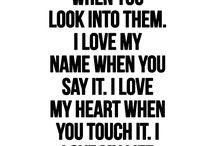 Love/romantic quotes
