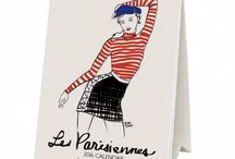 A5 French desk calendar!