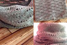 Sjaal / scarf / Breien en Haken