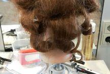 fashion hairstyling