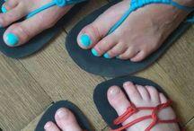 Boty, huarache, šití z kůže - Shoes, huarache, sewing leather
