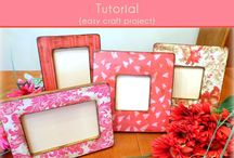 Fotoframe / DIY, decor, design